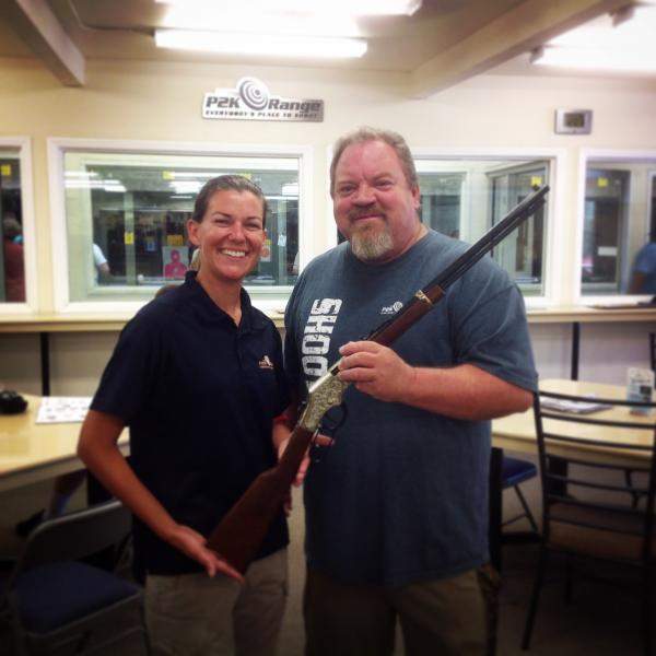 David H. Winner! Range Improvement Raffle August 2014