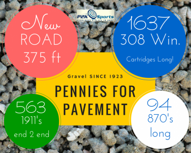 Pennies for Pavement
