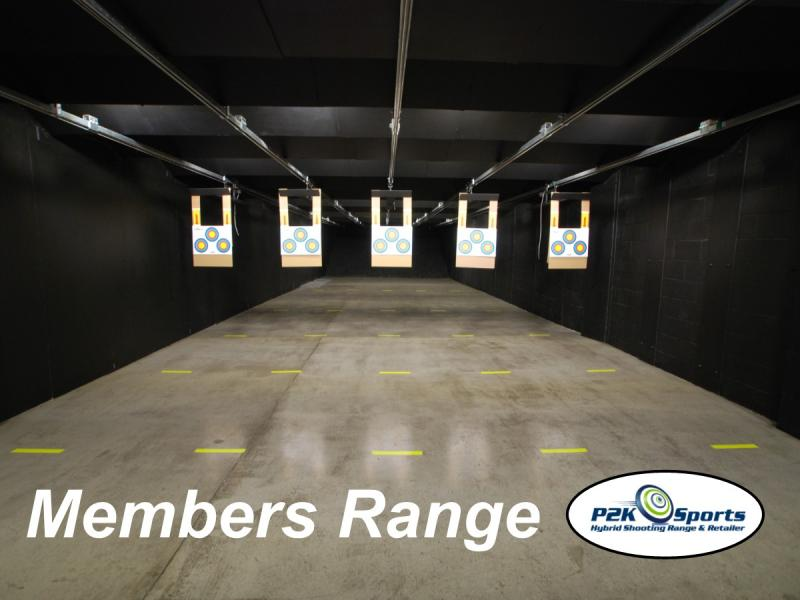 Members Only Exclusive Indoor Range