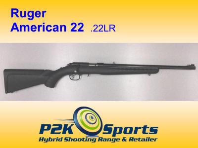 Ruger American 22 Open Sight